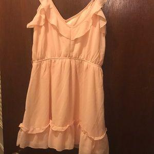 Tobi pink mini dress